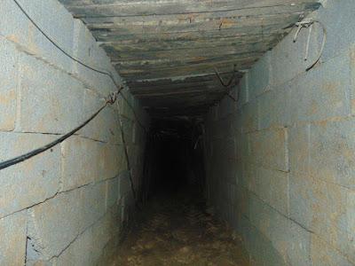 إكتشاف وتدمير قوات حرس الحدود لنفق رئيسى بشمال سيناء