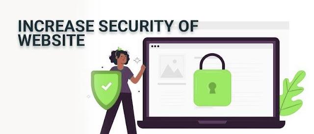 Increase Security of Website