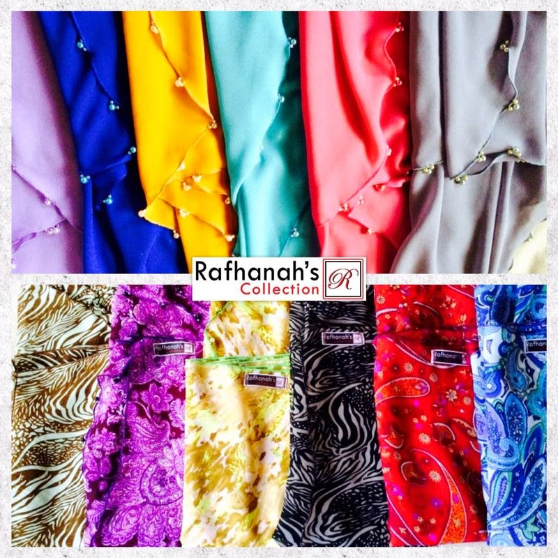 Shawl Raya Rafhanah's Collection
