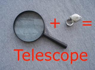 Πώς να φτιάξεις εύκολα και φτηνά ένα τηλεσκόπιο;