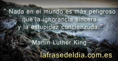 Frases motivadoras de Martin Luther King