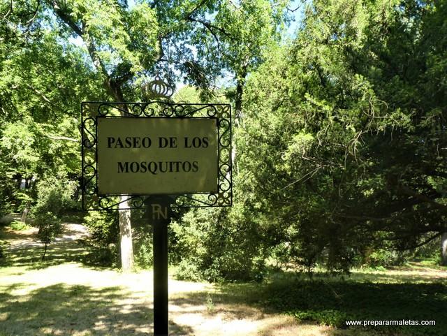 Paseo de los Mosquitos Campo del Moro