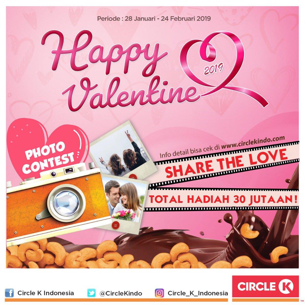 #CircleK - #Promo Photo Contest di Happy Valentine 2019 ( s.d 24 Feb 2019)