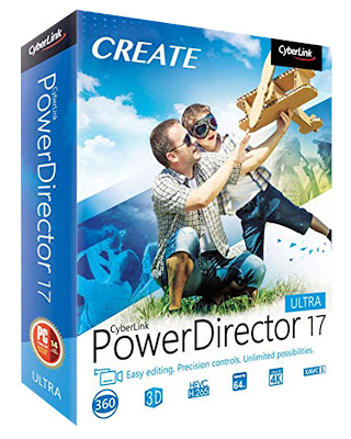Cyberlink PowerDirector 17 Crack With Activation Key Free Download 2019