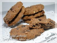 Cookies au chocolat sans gluten, sans oeuf