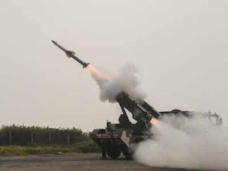 India Test Fired Quick Reaction Surface-to-Air Missile (QRSAM)