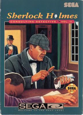 Portada aventura gráfica Sherlock Holmes Consulting Detective Vol. II