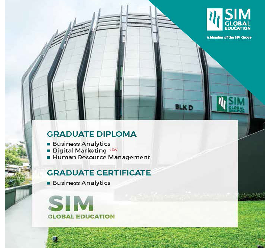 Graduate Diploma and Graduate Certificate Program | SIM Singapore