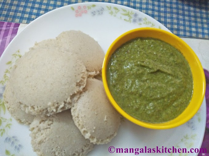 Thinai Idli Recipe | Foxtail Millet Idli Dosa Recipe