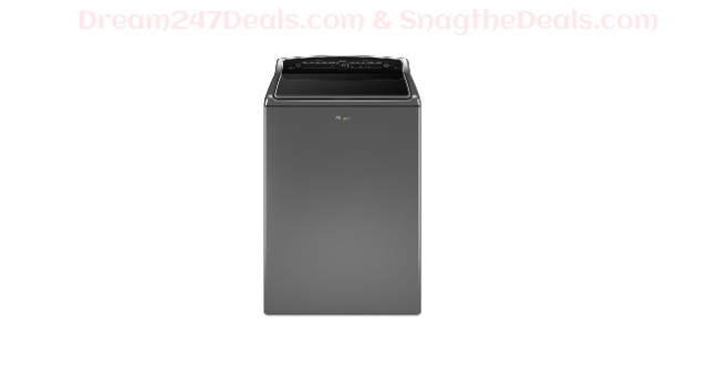 Whirlpool 5.3 cu. ft. High-Efficiency Chrome Shadow Top Load Washing Machine with ColorLast