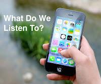 Smartphone listening image