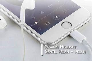 cara menghilangkan icon headset di hp