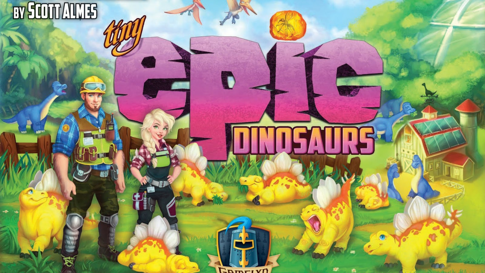 Kickstarter Highlights - Tiny Epic Dinosaurs