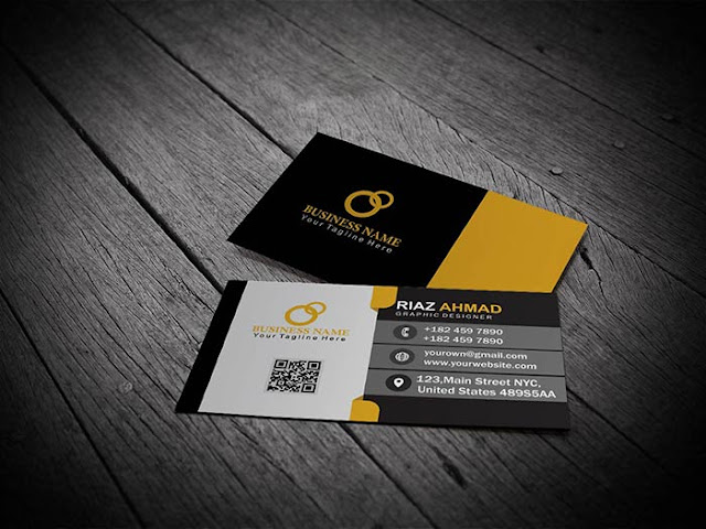 Visiting Card template free download