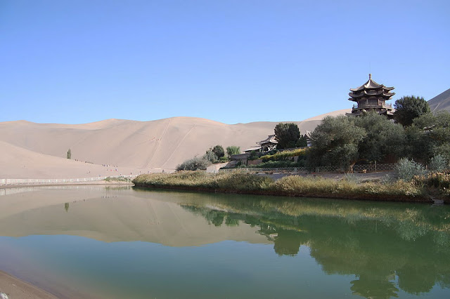 Lago Crescente – O oásis do Gobi