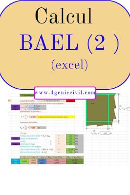 Calcul BAEL avec excel