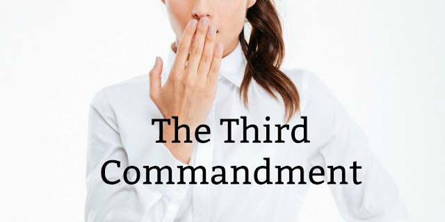 we can violate the Third Commandment even if we never cuss. This 1-minute devotion gives examples of other vain uses of God's name.