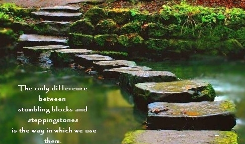 the stumbling block called success