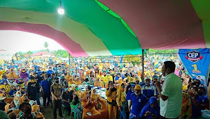PILGUB: Massa Membludak, Closing Kampanye Sehan di Kabupaten Bolaang Mongondow Timur