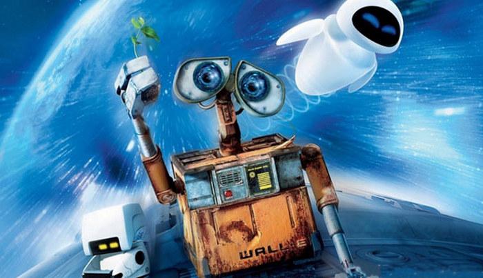 WALL-E (2008) Fixar Movie Wallpapers, film animasi terbaru terbaik terpopuler sepanjang sejarah myanimelist