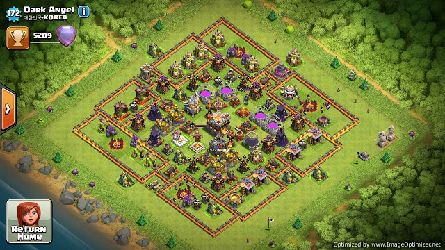 base terbaik coc th 11