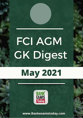 FCI AGM GK Digest: May 2021