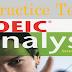 Listening Practice Test - TOEIC Analyst