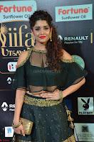 Ritika Singh in a Ethnic Deep Neck Dark Green Choli Ghagra at IIFA Utsavam Awards March 2017 ~ 002.JPG