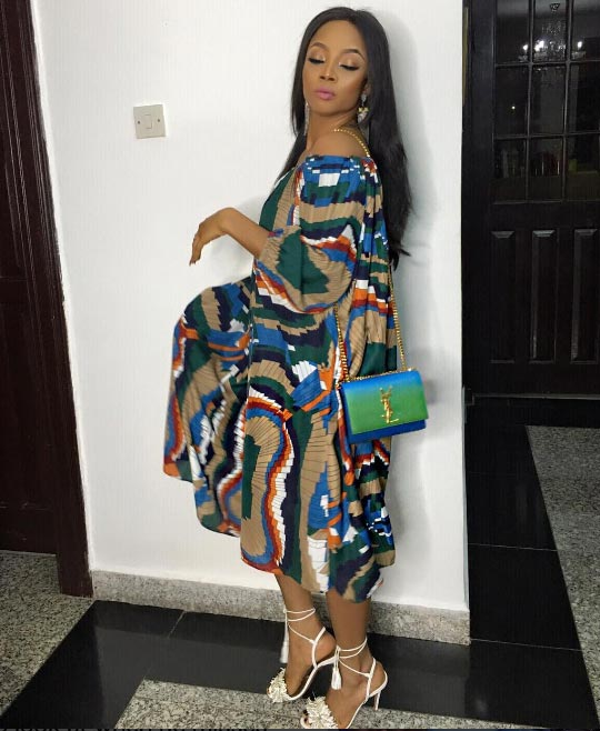 Slaymaker! Toke Makinwa in ankara dress