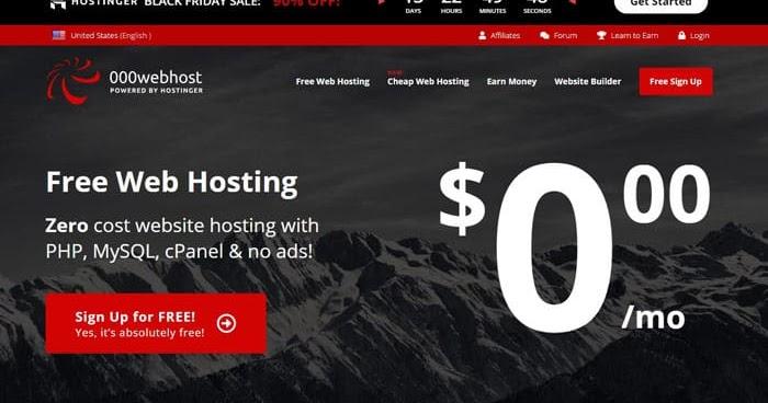 Cara Buat Website Gratis Pakai 000webhost Dan Freenom Kosngosan