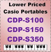 Casio CDP-S100, CDP-S150, CDP-S350 banner
