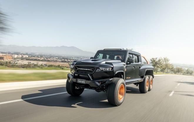 Rezvani Hercules 6X6 Military Edition Truck