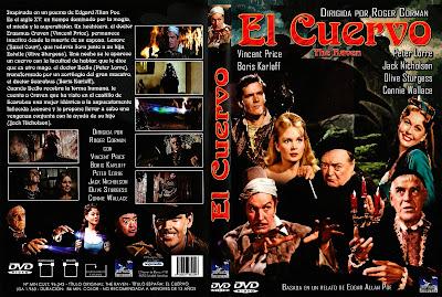 Carátula dvd: El Cuervo (1963)