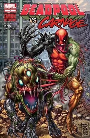symbiote Hybrid Bersatu dengan Deadpool