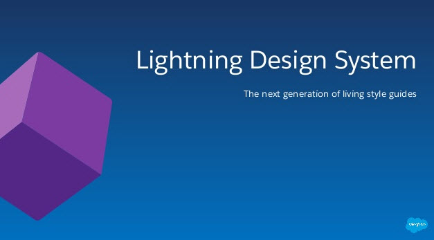 """Lightning Design System"" Series 