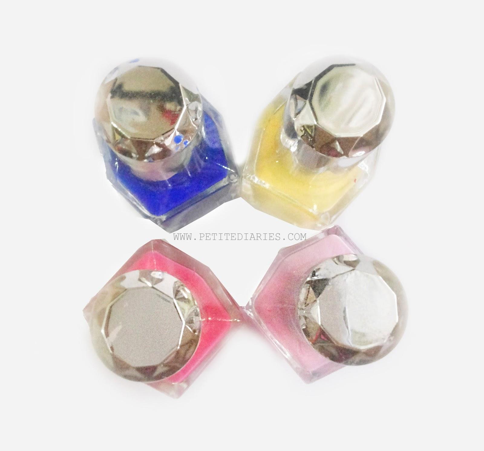 canmake colorful nail enamel