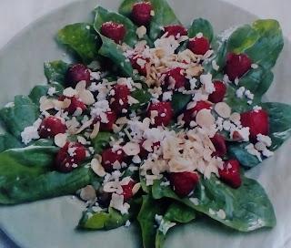 cilekli salata tarifi