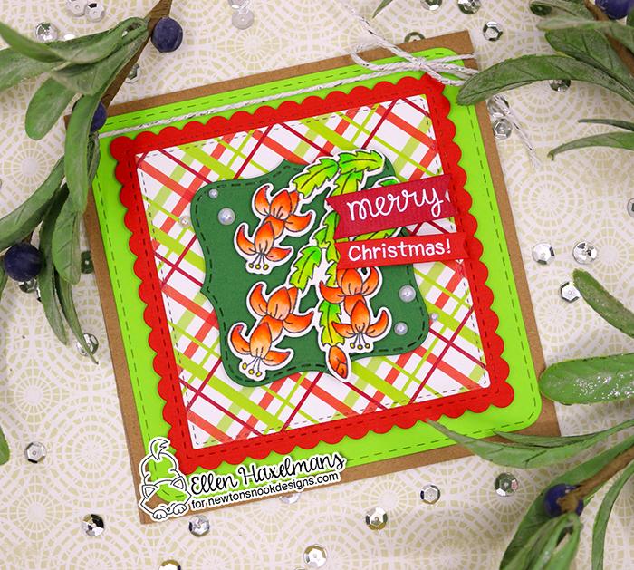 #newtonsnook #newtonsnookdesigns #handmadecard #cardmaking #stamping #nnd #card #cardmaking #handmade #stampset #dieset #paperart #hobby #drawing #dutchcardmaker #HolidayHomestampset #ChristmasCactusstampset #christmascard #diy #patternpaper #MeowyChristmasPaperPad #ZigCleanColorRealBrushPens #watercolorcard
