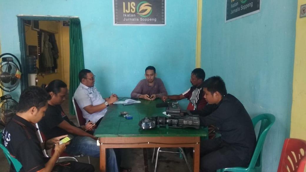 Kabag Humas Pemkab Soppeng Gelar Silaturahmi