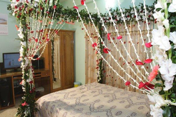 Wedding Snaps Bridal Bed Room Decoration