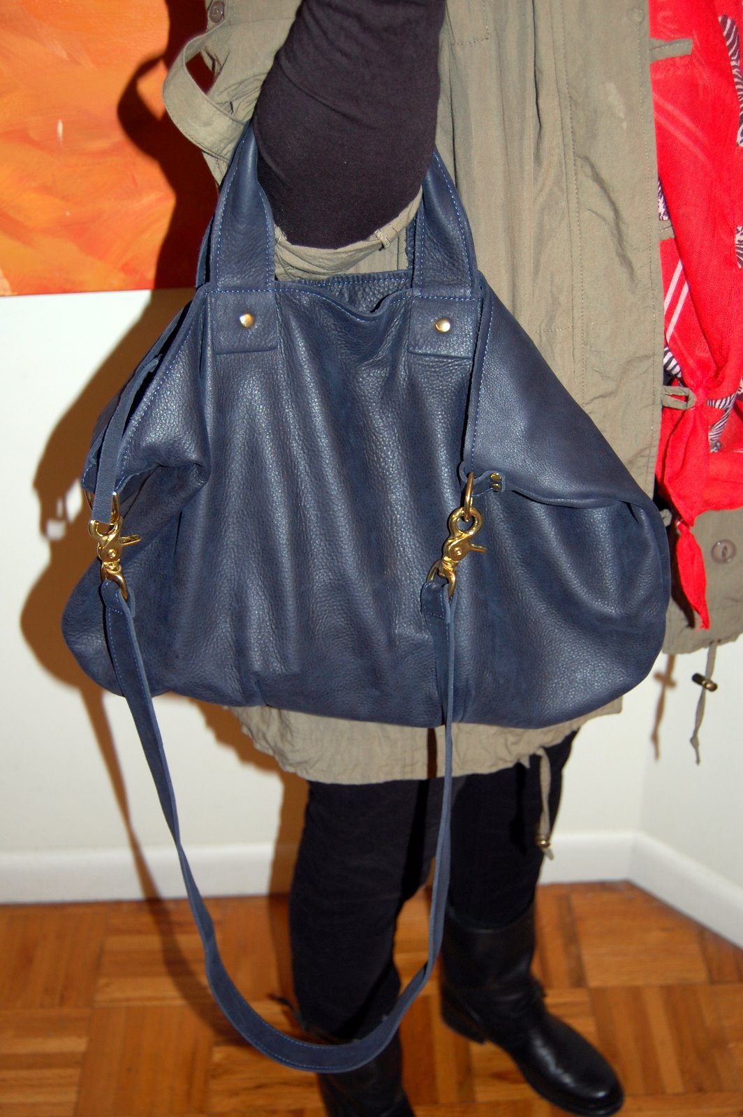It S Simple A Great Color And Fabulous Leather Quickly Becoming My Favorite Bag Just Like That