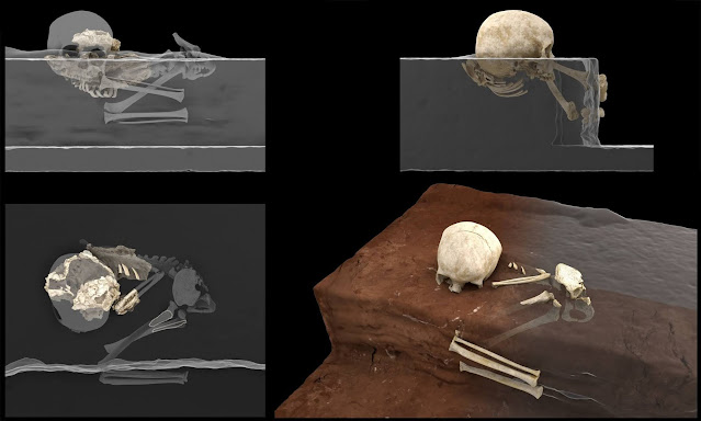 The oldest human burial site in Africa uncovered