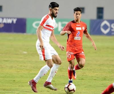 بث مباشر مباراة الزمالك اليوم امام حرس الحدود الدوري المصري الممتاز