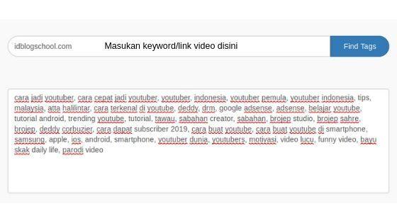 Cara Melihat Tag Video Youtube Orang Lain