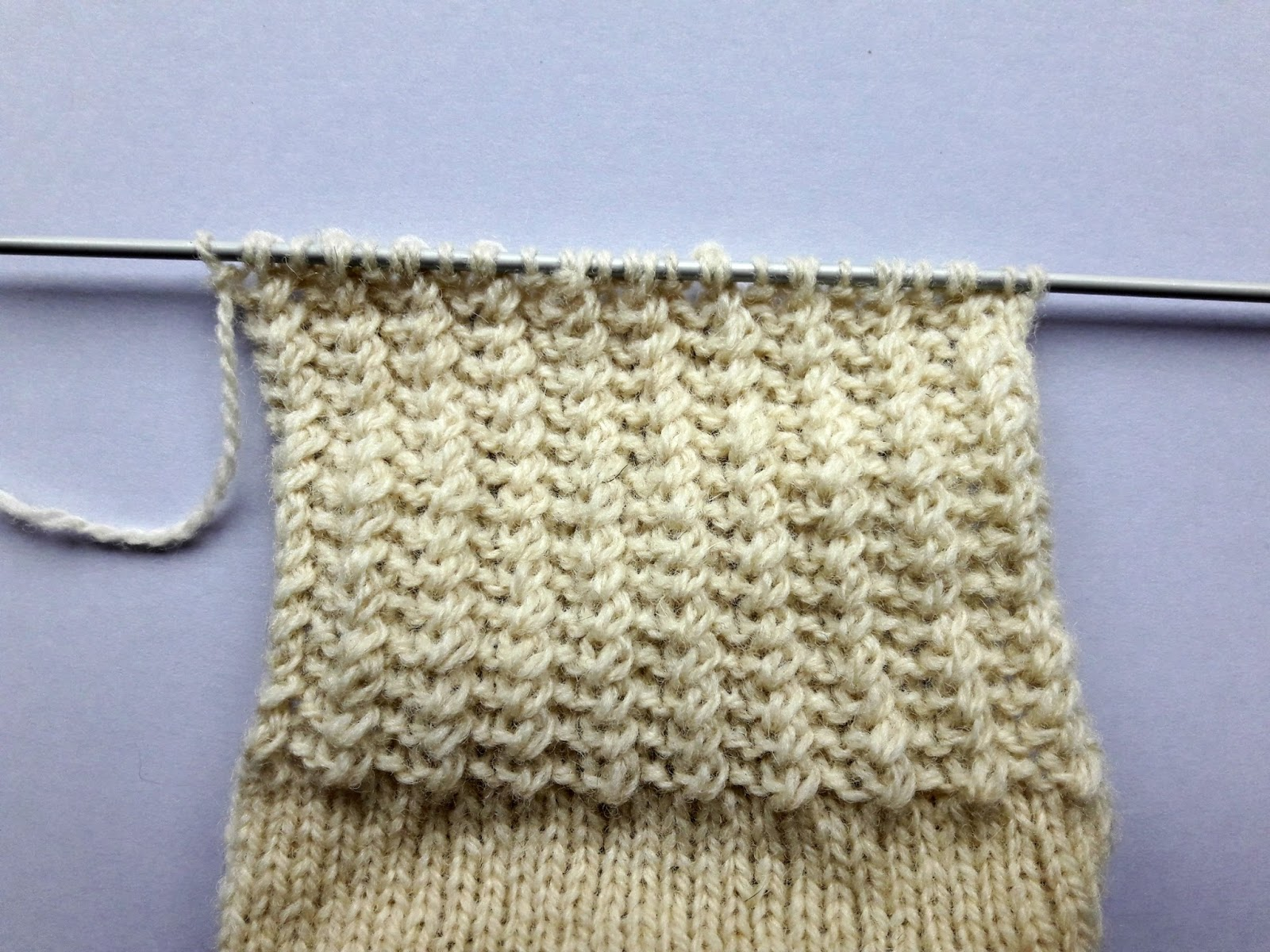 Knitting Pick Up Stitches Heel Flap : Winwick Mum: Easy cable socks - free pattern and tutorial