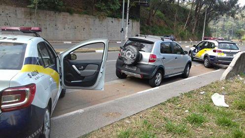 Guarda Civil Metropolitana localiza veículo produto de roubo abandonado pelo Paraisópolis