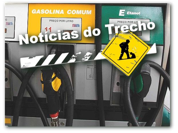 Resultado de imagem para gasolina noticias trecho