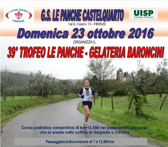 Gs Le Panche Castelquarto.42195run Classifica Trofeo Le Panche 2016