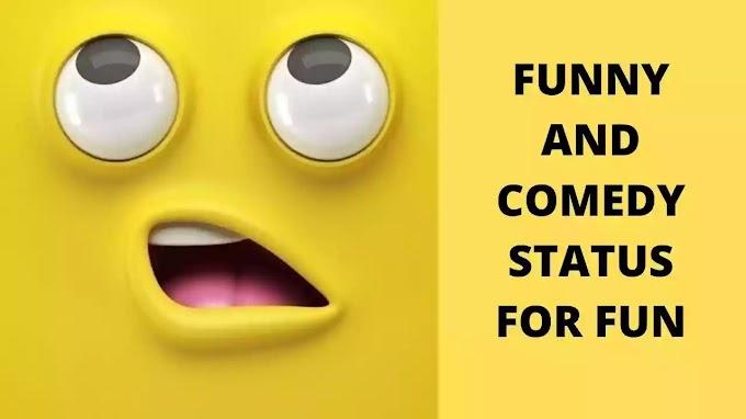 57+ Comedy Funny Status In Hindi For Fun In 2020