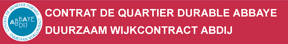 Contrat Quartier Durable Abbaye (CQDAb) -  Duurzaam Wijkcontract Abdij (DWCAb)